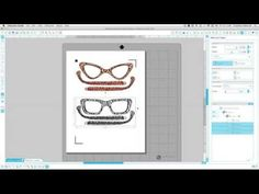 how to set up SVG files to print and cut Silhouette Studio V3 Designer Edition - cut by color method