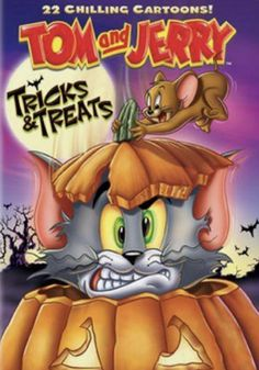 Tom And Jerry Movies, New Tom And Jerry, Tom Y Jerry, Halloween Movies, Holiday Movies, Vintage Halloween, Creepy Houses, Haunted Forest, Funny Animal Videos