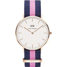 Daniel Wellington Watch - Classic Winchester - Ladies - Rose gold (twistedtime.com)
