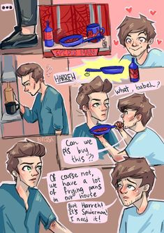 Larry Stylinson, Spder Man, Rose And Dagger, Mutual Respect, Fanart, Louis And Harry, Being Good, James Horan, Dan And Phil