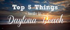 Top 5 Things to do in Daytona Beach Great Places, Places To Go, Mary Mcleod Bethune, Daytona Beach Florida, Beach Hacks, Beach Adventure, Next Holiday, Florida Vacation, Road Trippin