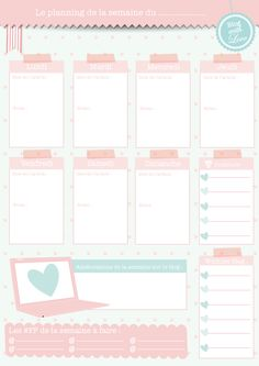 Petites fiches pratiques de la blogueuse organisée.