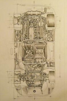 40 Ideas for cars art drawing transportation design Technical Illustration, Car Illustration, Technical Drawing, Racing Car Design, Automobile, Car Posters, Cinema Posters, Car Drawings, Automotive Design