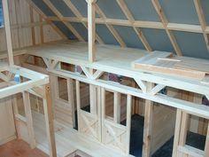 More interior shots of the Breyer barn