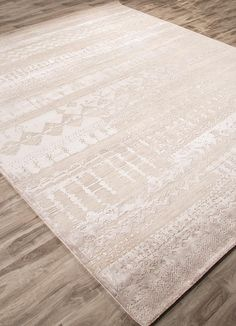 Exquisite texture and a lustrous distressed look perfect this strikingly modern rug by Jaipur. Each piece is carefully crafted from hand-carded wool and the designer's art silk viscose, then finished with a subtle sheen. Girls Apartment, Discount Area Rugs, Jaipur Rugs, Global Style, Wool Carpet, Rugs Online, Hand Knotted Rugs, Modern Rugs, Floor Rugs