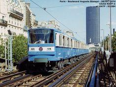Underground Tube, Metro Subway, Rapid Transit, Paris Metro, U Bahn, Rolling Stock, France, Busses, Trains