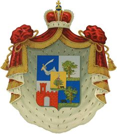 Coat of arms of the House of Gagarin