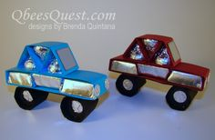 Hershey's Car Tutorial by Qbee - Cards and Paper Crafts at Splitcoaststampers Candy Crafts, 3d Paper Crafts, Little Presents, Little Gifts, Best Dad Gifts, Gifts For Dad, Craft Gifts, Diy Gifts, 3d Craft