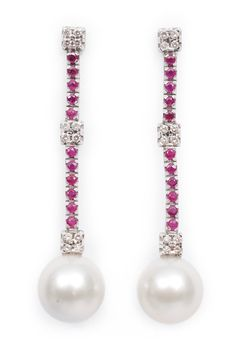 pearls and rubies