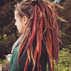 Hello, welcome in my shop :)I can make a wool dreadlocks for you, please ready about them belowInformation about set: Dreadlocks Girl, Dreadlock Rasta, Wool Dreads, Dreadlock Styles, Dreads Styles, White Girl Dreads, Partial Dreads, Pelo Rasta, Natural Hair Accessories
