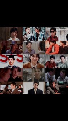 Ralph Macchio The Outsiders, The Outsiders Preferences, The Karate Kid 1984, Johnnycake, Greaser Girl, 80s Stuff, Attractive People, Film Quotes, 3 In One