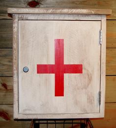 Reclaimed Wood Medicine Cabinet   Stow all of your emergency essentials (yes, chocolate counts) ...   Medicine Cabinets