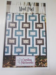 Mod Pod Quilt Pattern No. 16 - Carolina Patchworks- by Emily Cier by QuiltiliciousFabric on Etsy