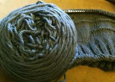 Grey Ice, Knitting blog, the mad knitter shop