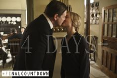 4  days until the UK Downton Abbey final series premiere. #FinalCountdown.S1-5 Recap pt.16.Season 4 starts with Upstairs in mourning and Downstairs canoodling. It gets rather confusing. Sure, Bates and Anna and Carson and Hughes are a given, but then Daisy likes footman A who is no longer on the show but he likes kitchen maid B who is gone, too. Then there's footman C who is also gone and now I don't remember where I was going with this. Kind of like JF and several of his story lines…