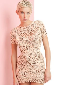 sexy knitwear dress MOBO by Lesley Mobo