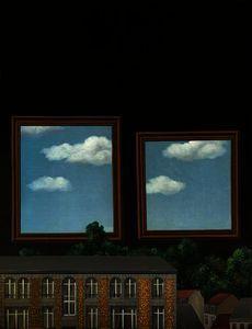 Rene Magritte - la marche de amoureux