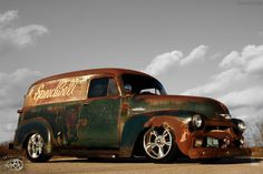 1954 Chevrolet C-10 Slammed Suspension 3100 Hot Rod Patina Shop Truck