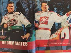 #ThrowbackThursday inside 2000 ESPN Mag #NASCAR Preview: My big feature on @JoeGibbsRacing expanding to (gulp) two teams!! @ESPNMcGee