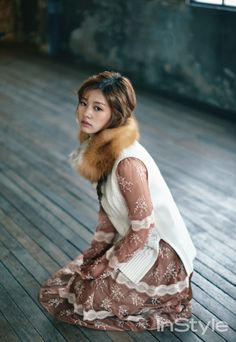 Style Korea: The Art of Korean Fashion • Jung So Min  for Instyle Korea December 2015....