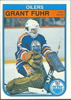 Hockey Cards, Football Cards, Baseball Cards, Nhl, Hockey Hall Of Fame, Goalie Mask, Edmonton Oilers, National Hockey League, Sports Pictures