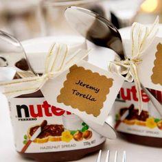 #Nutella #NutellaBonbonieres #Bonbonnieres #Weddingfavour
