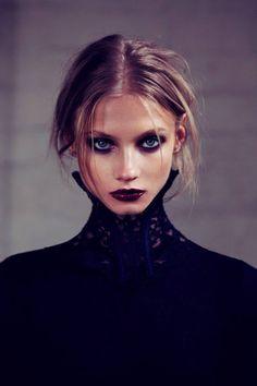 anna + selezneva #makeup