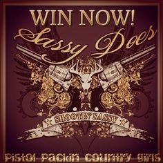 LIKE  REPIN FOR A CHANCE TO WIN SASSY'S PISTOL PACKIN' SHIRT NOW! GET YOUR SASSY ON❤️ **No purchase necessary. Winner will be announced tomorrow. WWW.SASSYDOES.COM #sassydoes #giveaway #pistol #gins #hunt #countrygirls #countryboys #outdoor #life