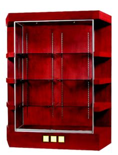 Display Cabinet- DNS Industries Jewelry Cabinet, Store Fixtures, Dns, Bookcase, Display, Home Decor, Floor Space, Decoration Home, Billboard