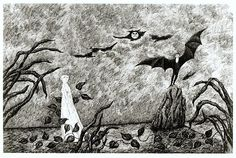 Goreyana: It's Hard To Keep A Bad Man Down - Edward Gorey's Dracula Returns
