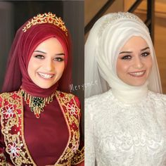 Hijab styles 348606827407807249 - Görüntünün olası içeriği: 2 kişi Source by Wedding Dress With Veil, Princess Wedding Dresses, Gown Wedding, Long Hair Wedding Styles, Long Hair Styles, Makeup Hijab, Peinados Pin Up, Before Wedding, Bride Look