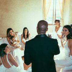 Kanye West wedding #kardashian Khloe Kardashian Kourtney Kardahsian Kendal and Kylie Nori Kris Jenner #NorthWest