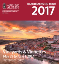 Colorful tiled churches, marvelous architecture and cuisine, and sun-dappled vineyards await you on this voyage aboard Oceania Cruises' exquisite Nautica. From Lisbon to London, encounter intriguing cities nestled on the coast of Portugal, northern Spain, and France.  #RazorbacksOnTour #TravelTuesday learn more at http://ow.ly/MSqm301R61I
