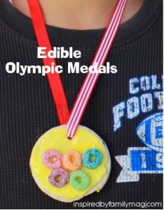 Future art project for Great idea for an olympic party with your kids including games, edible olympic medals, and olympic bracelets Games For Kids, Activities For Kids, Crafts For Kids, Fun Games, Olympic Idea, Olympic Games, Kids Olympics, Winter Olympics, Olympic Crafts