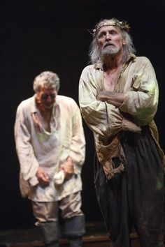 Scott Wentworth (left) as Gloucester and Colm Feore as King Lear. Stratford, Ontario. Photo by David Hou.