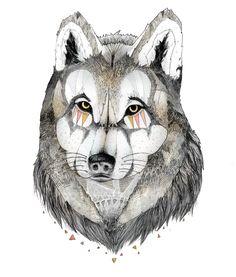 Wolf-Wolf Ilustration!
