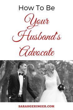 Learn ways to build your husband up by serving as his advocate. #marriage #marriageadvice #peacefulmarriage