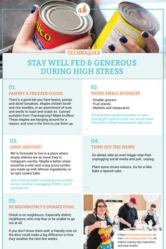 How to stay well fed and generous during this high stress time - Andrea Buckett Think Small, Asian Market, Fruit Stands, Five Ingredients, Food Bank, Canned Pumpkin, Rice Noodles, Instagram Worthy, Freezer Meals