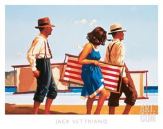 Jack Vettriano Sweet Bird of Youth I painting for sale - Jack Vettriano Sweet Bird of Youth I is handmade art reproduction; You can shop Jack Vettriano Sweet Bird of Youth I painting on canvas or frame. Jack Vettriano, Canvas Art For Sale, Arte Country, Carl Larsson, Bob Ross, Arte Pop, Beach Art, Stretched Canvas Prints, Amazing Art