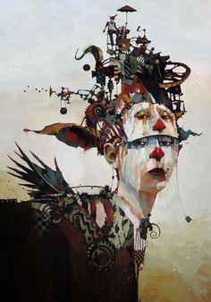 Kinetic Machine Cranium Portraits | Bruce Holwerda
