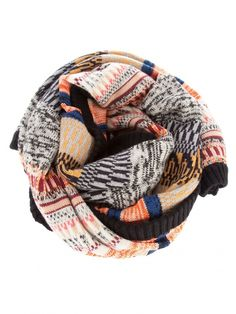 a colorful, warm scarf - for chilly nights she's out