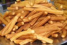 Photo for recipe: Фото к рецепту: чуррос Photo for recipe: churros - Churros, Bulgarian Recipes, Russian Recipes, Baking Recipes, Vegan Recipes, Good Food, Yummy Food, Sweet Pastries, Seafood Recipes