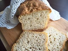 przepis na chleb orkiszowy Banana Bread, Food And Drink, Cooking, Recipes, Dom, Kitchen, Baked Goods, Recipies, Kitchens