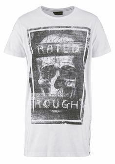 Rated Rough - Totenkopf T-Shirt nicht nur für Halloween