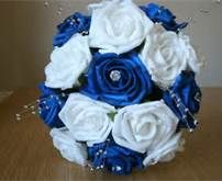 Blue And Silver Wedding Bouquet - Bing Images