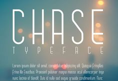 Chase is a free sleek and chicfont that comes inuppercase and lowercase. Its thin slender lines allow for great legibility, perfect as bot...