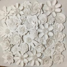 33pcs Set Giant Card Stock Paper Flowers Full Wall Wedding Backdrops Decoration Windows Display Photo Booth para decora o 1M2-in Decorative Flowers & Wreaths from Home & Garden on Aliexpress.com | Alibaba Group