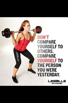 Les Mills classes work! Come try some at Bella Forza!