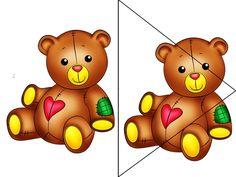 m.babyblog.ru Bear Images, File Folder Games, Bear Cartoon, Busy Bags, Puzzles For Kids, English Lessons, Rubrics, Fun Games, Tigger