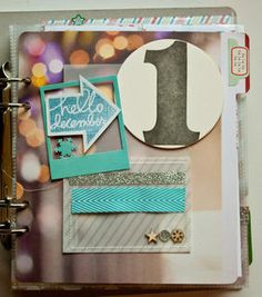 December Daily--Days 1 & 2 by A2Kate at Studio Calico